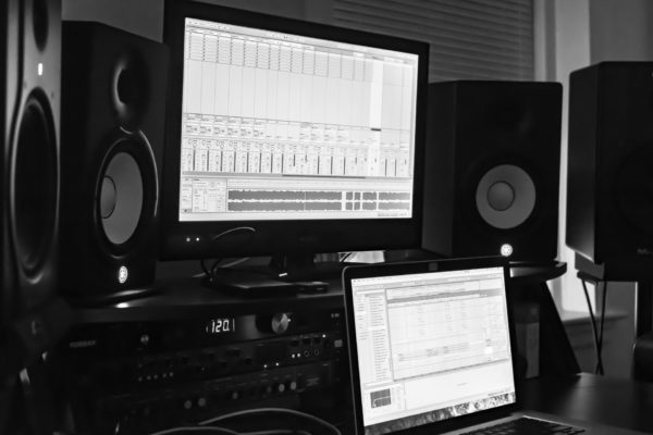 Life in a home studio as an audio engineer